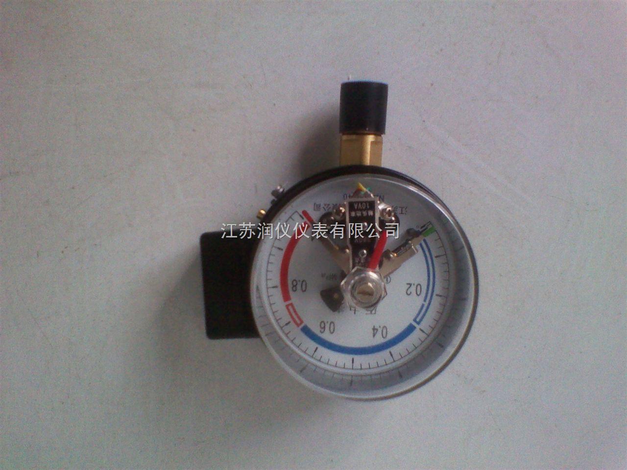 磁助电接点压力表0-6MPa