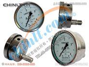 Y-100B-FZ/Z 耐震全不锈钢轴向压力表