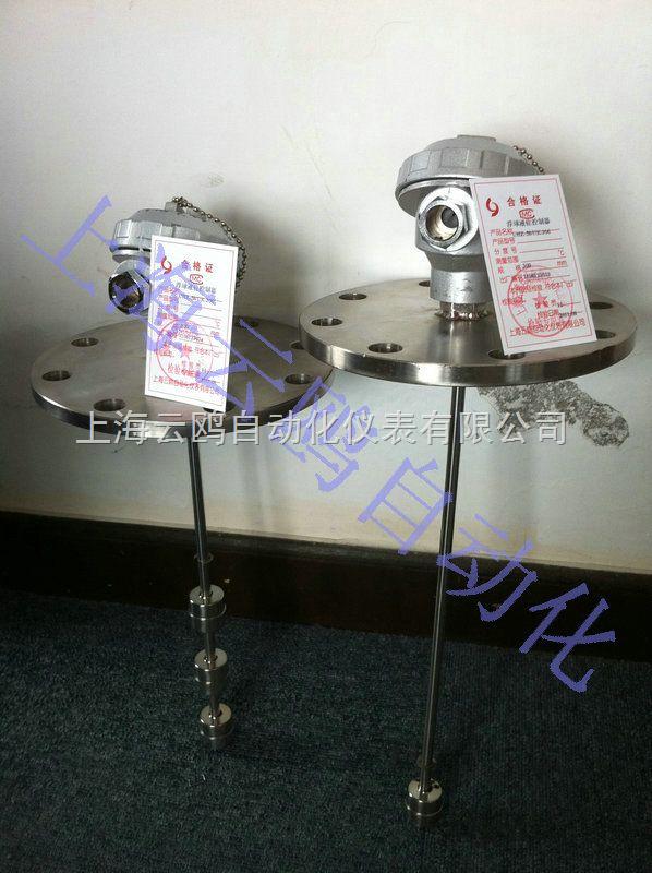 UQK-71f不锈钢液位控制器,UQK-71f干簧管多点浮球液位开关