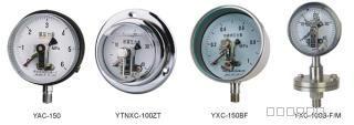YXC-150,磁助电接点压力表