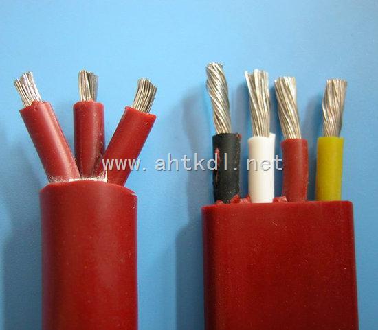 YGGBP分项屏蔽硅橡胶扁电缆