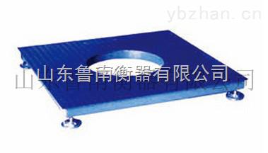 料灌平台秤台面采用光板山东鲁南衡器有限公司