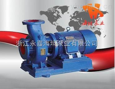 不銹鋼臥式管道離心泵ISWP型
