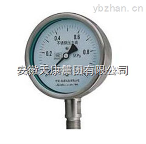 隔膜耐高温耐震压力表