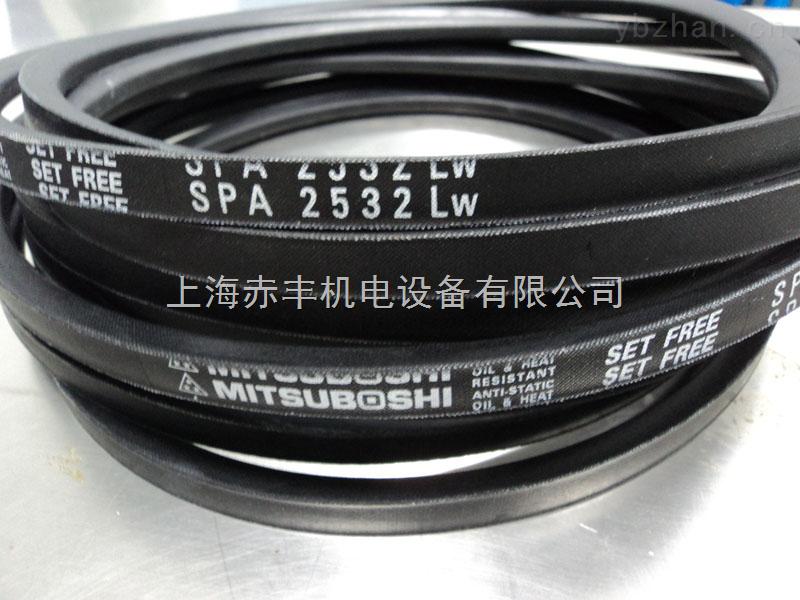 日本三星皮带SPA2550LW窄V带价格,日本MBL三角带代理商