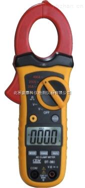 北京金泰批发小型双注塑自动量程交/直流钳型表DT-360价格