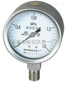 全不锈钢安全系列压力表,型号YTQ/YTQN-100