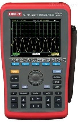 手持式数字存储示波器UTD1062C价格北京金泰科仪批发零售