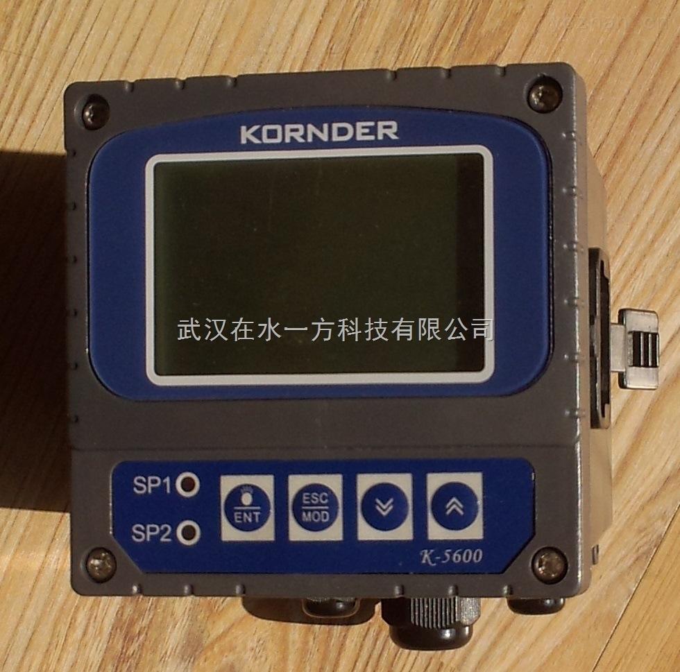 【原装】KORNDER康德 K5600 PH值测试仪 在线PH计 污水处理专用