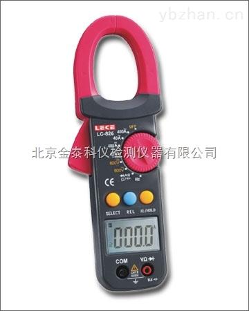 自动量程直流电流钳形多用表LC826功能原理
