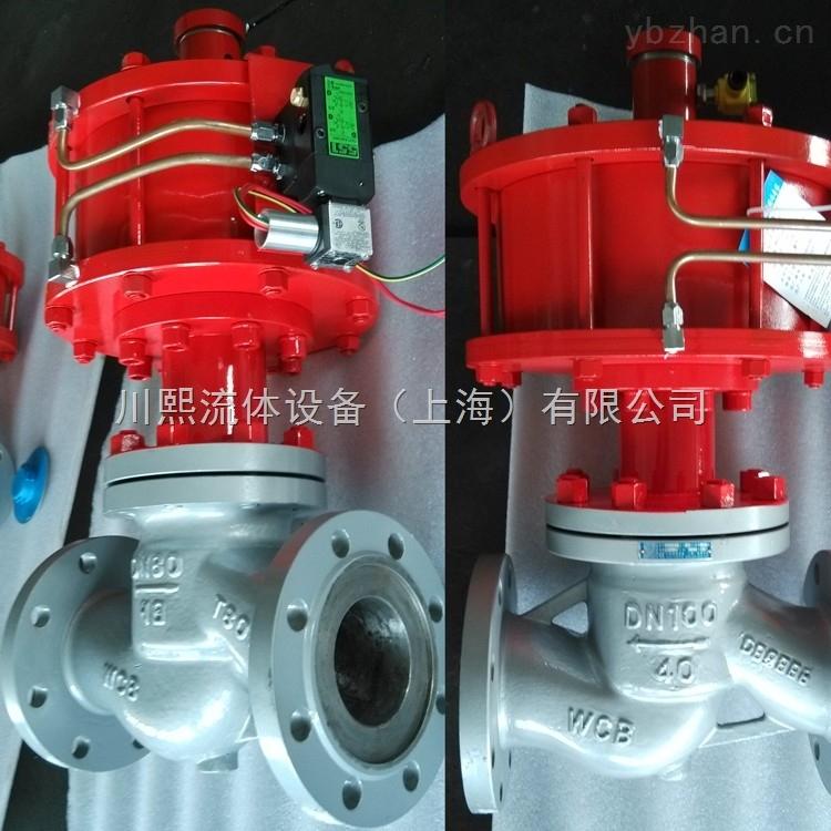 双作用PSA气动程控阀上海厂家直销