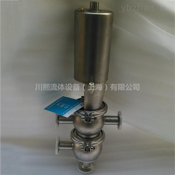 全不銹鋼單作用四通衛生級氣動換向閥