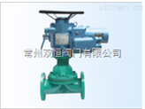 常州G941J(衬胶)电动隔膜阀DN15-350