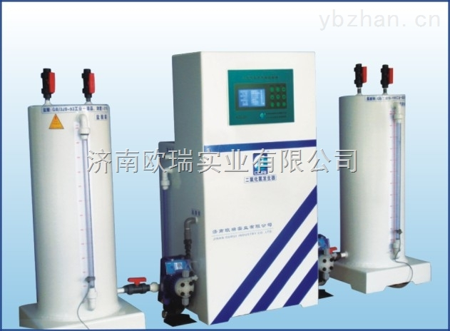 RJ-T瑞钛系列复合二氧化氯发生器