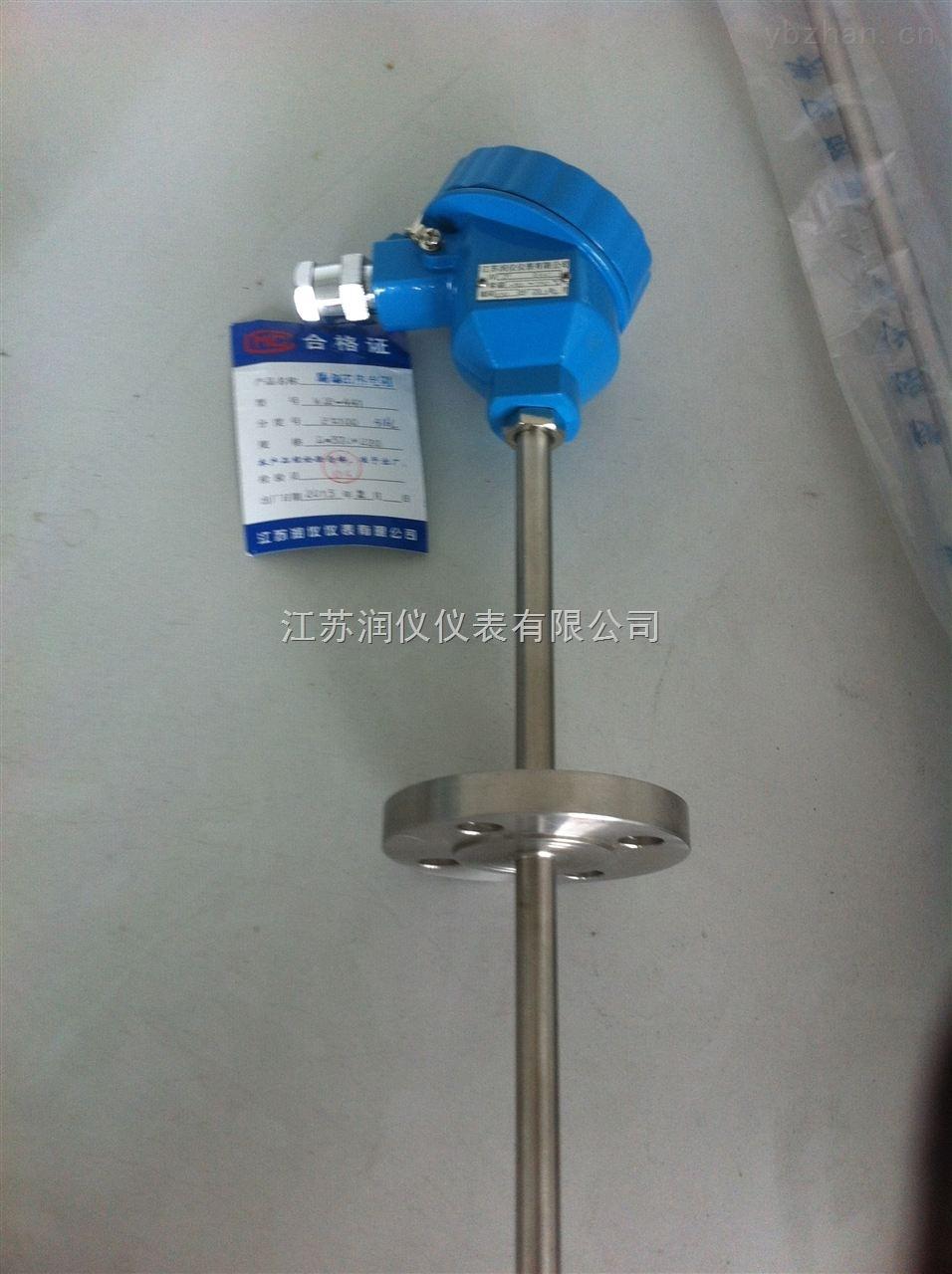 该产品装配式热电阻主要由接线盒
