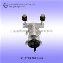 便攜式氣壓壓力泵 金湖銘宇自控設備有限公司