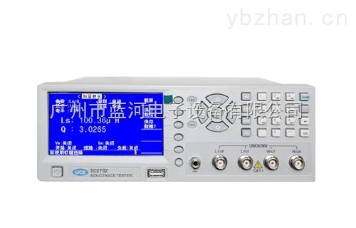 廣州總經銷UC2752電感機 優策UC2752電感測試機 測試頻率10KHz