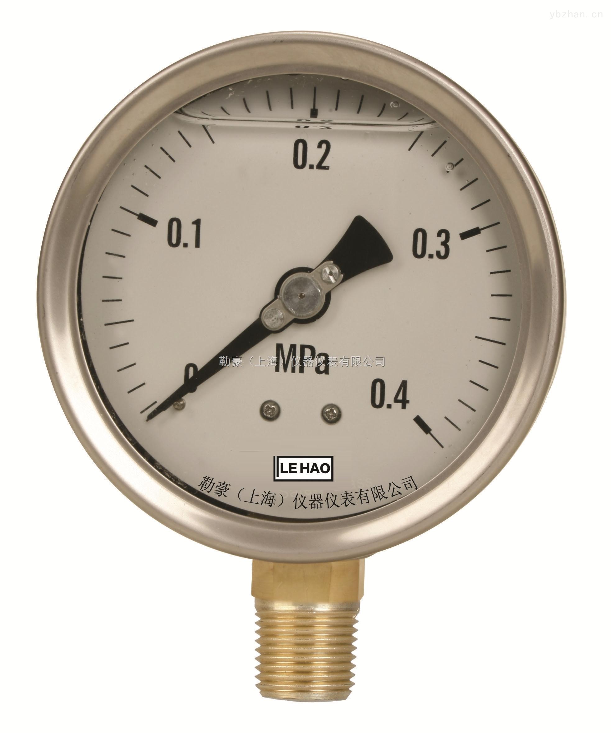 YTF-100-半鋼徑向耐震壓力表