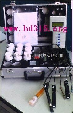 便携式水质分析仪型号:XU30DY-IIIS库号M131809