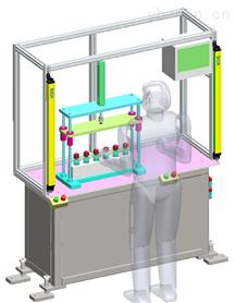 高精度高效标准化密闭容器管路干式检漏装置