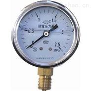 YNB-100/0-4MPa 不銹鋼耐震壓力表