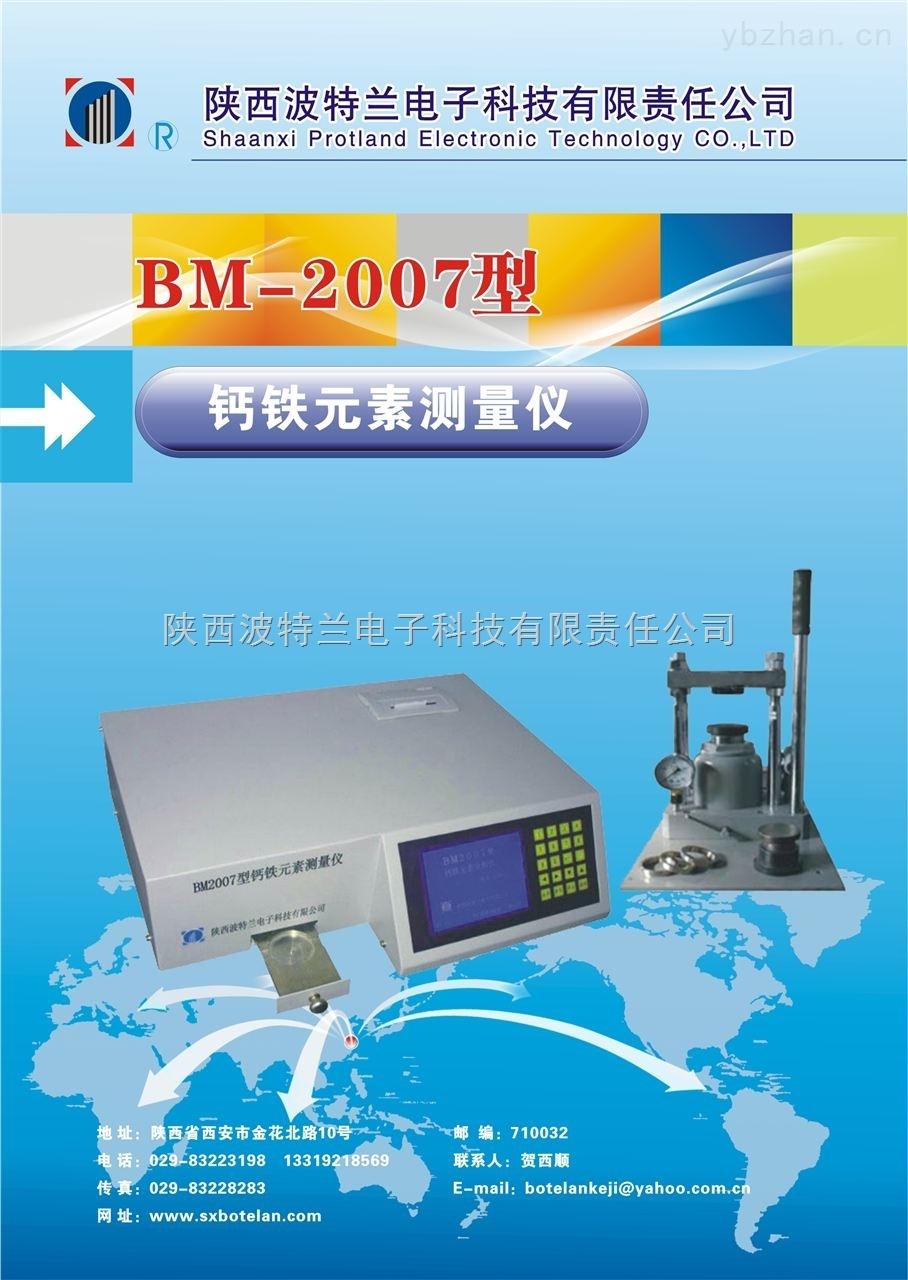 钙铁分析仪|BM2007型测量仪