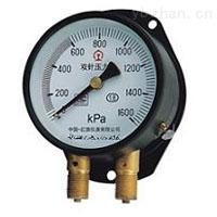 雙針壓力表YZS-102,上海自動化儀表四廠