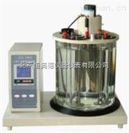 石油产品密度试验器主要技术参数及指标