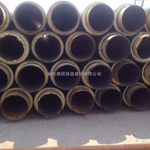 日照现货聚氨酯塑套钢保温管施工安装