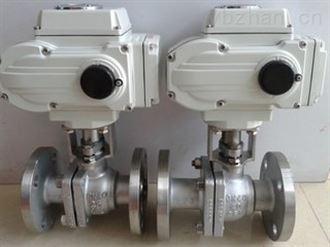 专业生产电动不锈钢法兰球阀优质产品