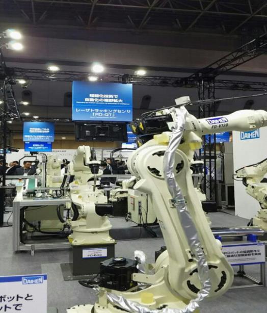 2017日本国际机器人展览会在日本东京隆重举行