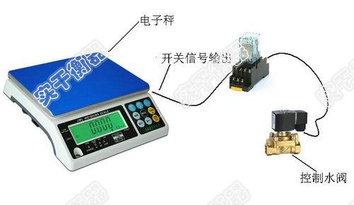 开关量信号输出电子桌秤 > acs控制电磁阀门开关定量电子称生产厂家
