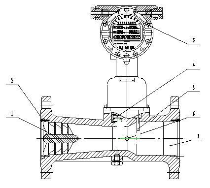叶片式空气流量传感器电路图