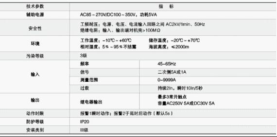 acm2过负荷监控装置接线图