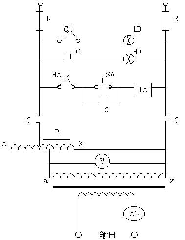 三相调压电路图