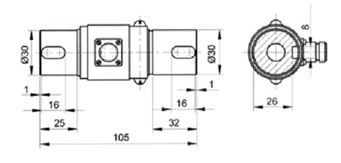 济南泰钦供应tq-n4a扭矩传感器_电子元器件_传感器