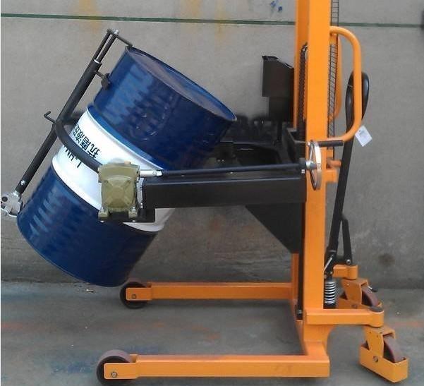 型电子秤油桶车是上海实润公司主力车型之一