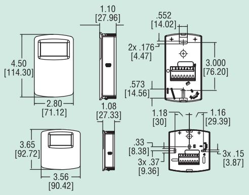 e n系列墙装式温度 湿度 露点变送器