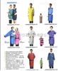 双面连体辐射防护服、射线防护服、铅衣